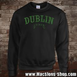 "Dublin ""Éire"" Sweatshirt (black/green)"