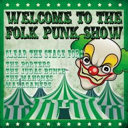 "V.A. ""Welcome To The Folk Punk Show"" LP (lim. orange 500)"
