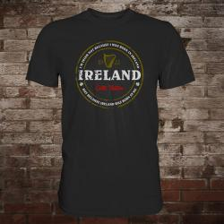 "Ireland ""Born In Me"" T-Shirt (black)"