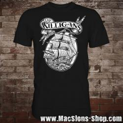"Killigans ""Ship"" T-Shirt (black)"