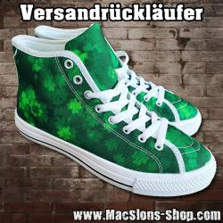 "MacSlon's ""Clover"" Girl Canvas High-Top Shoes (Versandrückläufer)"