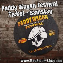 Paddy Wagon Festival 2019 - Ticket Samstag