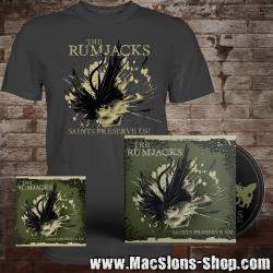 "Rumjacks ""Saints Preserve Us"" CD+T-Shirt+Sticker Pack"